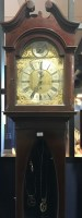 Lot 1432 - EDWARDIAN CHIMING LONGCASE CLOCK the lofty...