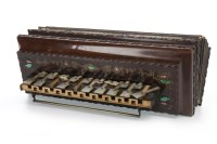 Lot 1438-VICTORIAN MELODIAN with mother of pearl keys and...