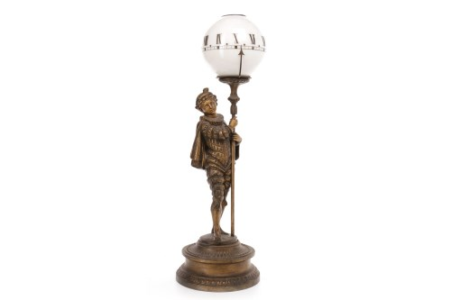 Lot 1443 - LATE 19TH CENTURY FRENCH FIGURAL MYSTERY NIGHT...