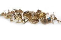 Lot 754 - GROUP OF VARIOUS JEWELLERY including necklaces...