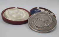 Lot 1609-EARLY 19TH CENTURY PLOUGHING MEDAL presented to...