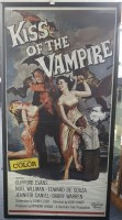 Lot 1698 - KISS OF THE VAMPIRE (1963) BRITISH PROMOTIONAL...