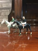 Lot 1720 - TWO BRITAIN'S RACING COLOURS OF FAMOUS OWNERS...