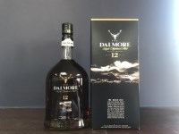 Lot 5-DALMORE AGED 12 YEARS THE BLACK ISLE - ONE LITRE...