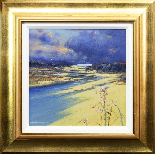 Lot 33-* JOHN BATHGATE, LOCH BRACADALE, SKYE oil on...