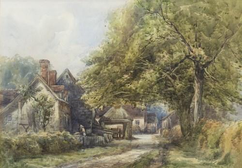 Lot 40-ALBERT MARLOW (BRITISH 1862 - 1911), AT GRAFTON,...