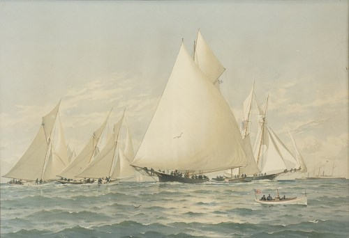Lot 41-FREDERIC SCHILLER COZZENS (AMERICAN 1846 -...