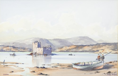 Lot 96-FRED STOTT (BRITISH 1910 - 2006), CASTEL BAY,...