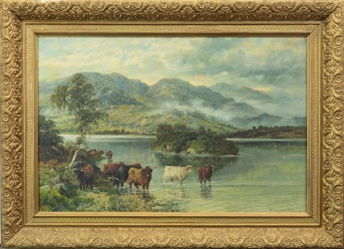 Lot 97-WILLIAM LANGLEY (BRITISH 1852 - 1922), ELLEN'S...