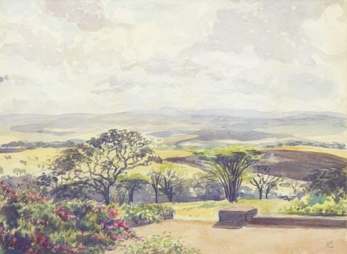 Lot 126-ARCHIBALD SANDEMAN (SCOTTISH 1887 - 1941), VIEW...