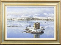 Lot 151-* MALCOLM BUTTS, CASTLE STALKER oil on canvas,...