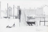 Lot 163-* DANNY FERGUSON RSW RGI (1925 - 1993), THE CLYDE,...