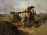 Lot 181-SMYTH, A PAIR OF RURAL SCENES a pair of oils on...