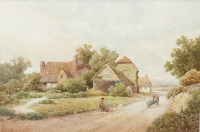 Lot 185A-ALBERT EDWARD BOWERS (BRITISH exh 1875 - 1893),...