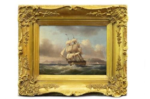 Lot 253 - JOCK WILSON (SCOTTISH 1774 - 1855), HMS...