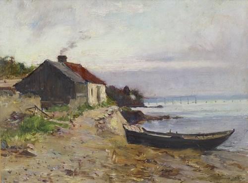 Lot 263 - JOSEPH MILNE (SCOTTISH 1861 - 1911), NEAR...