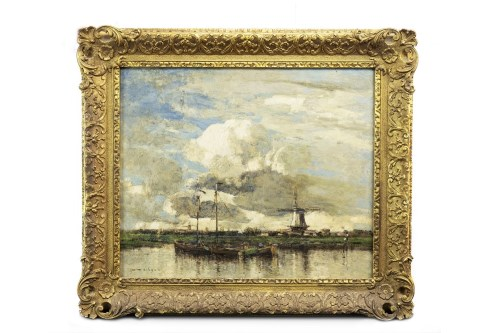 Lot 206-WILLIAM ALFRED GIBSON (1866 - 1931), BRIGHTENING...