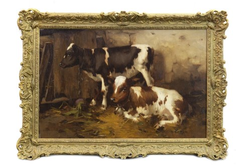 Lot 285-DAVID GAULD RSA (SCOTTISH 1865 - 1936), TWO...