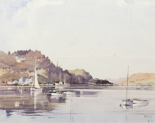 Lot 305-ALBERT GORDON THOMAS (SCOTTISH 1893 - 1970),...