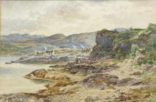 Lot 12-* JOHN NESBITT (SCOTTISH 1831 - 1904), SCOTTISH...