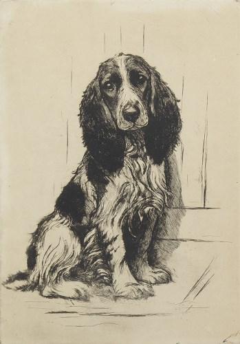 Lot 18-* MARION HARVEY (SCOTTISH 1886 - 1971), SPANIEL...