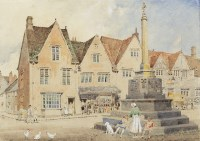 Lot 101-ARTHUR CHARLES FARE (BRITISH 1876 - 1958), STREET ...