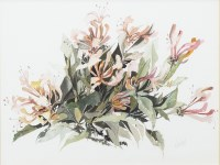 Lot 115-CONTEMPORARY SCHOOL, STILL LIFE WITH FLOWERS...