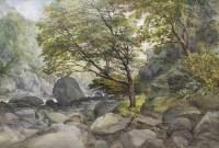 Lot 124-JAMES FERRIER (SCOTTISH fl. 1843 - 1883), ON THE...