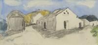 Lot 164-* DAVID P ANDERSON (SCOTTISH 1883 - 1976), STREET ...