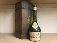 Lot 3-LIQUEUR DE LA VIEILLE CURE 1934 French Herbal...
