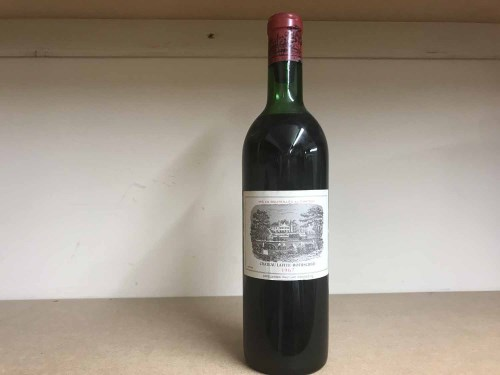 Lot 4-CHATEAU LAFITE ROTHSCHILD 1967 Premier Grand Cru...