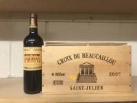 Lot 17-CROIX DE BEAUCAILLOU 2005 (6) A.C. Saint-Julien....