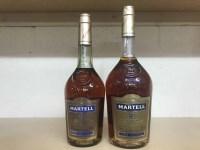 Lot 24-MARTELL VS - ONE LITRE Cognac, France. 1 litre,...