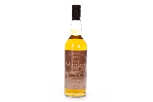 Lot 1002-MORTLACH 2002 THE MANAGER'S DRAM AGED 19 YEARS...