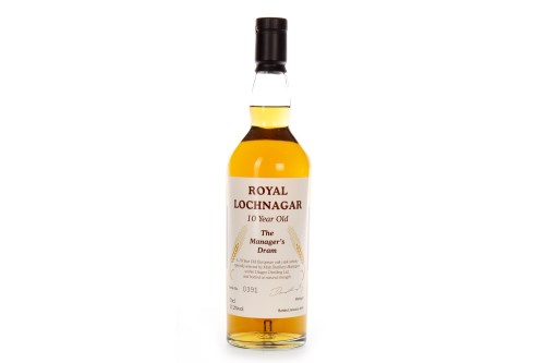 Lot 1003-ROYAL LOCHNAGAR THE MANAGER'S DRAM AGED 10 YEARS...
