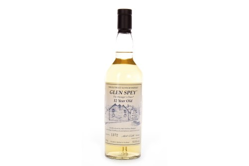 Lot 1005-GLEN SPEY THE MANAGER'S DRAM AGED 12 YEARS Active....