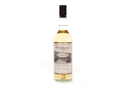 Lot 1006-DALWHINNIE THE MANAGER'S DRAM AGED 12 YEARS...