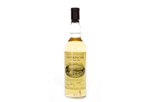 Lot 1007-GLENKINCHIE THE MANAGER'S DRAM AGED 15 YEARS...
