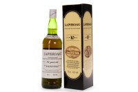 Lot 1025-LAPHROAIG UNBLENDED 10 YEARS OLD PRE-ROYAL...