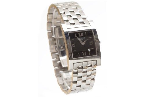 Lot 782-GENTLEMAN'S LONGINES STAINLESS STEEL QUARTZ WRIST ...