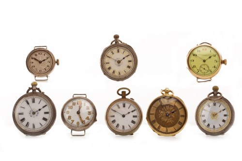 Lot 795-COLLECTION OF VARIOUS FOB AND WRIST WATCHES...