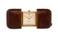 Lot 807-MID TWENTIETH CENTURY LACO PURSE WATCH the square ...