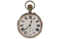 Lot 809-FRENCH EARLY TWENTIETH CENTURY KEYLESS WIND...