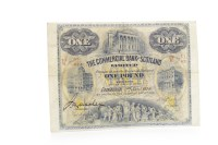 Lot 502-THE COMMERCIAL BANK OF SCOTLAND LIMITED £1 ONE...