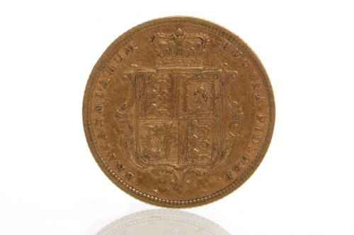 Lot 510-GOLD HALF SOVEREIGN DATED 1885