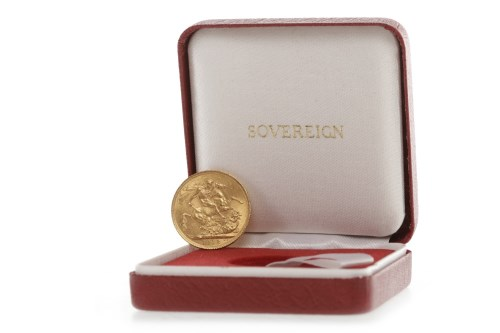 Lot 513-GOLD SOVEREIGN DATED 1912