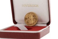 Lot 514-GOLD SOVEREIGN DATED 1899