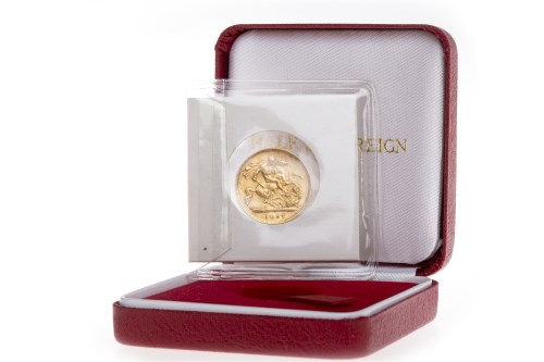 Lot 515-GOLD HALF SOVEREIGN DATED 1897