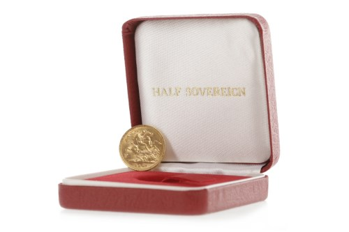Lot 521-GOLD HALF SOVEREIGN DATED 1897