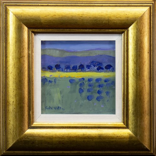 Lot 24-* ENID FOOTE WATTS (SCOTTISH 1924 - 2003), YELLOW ...